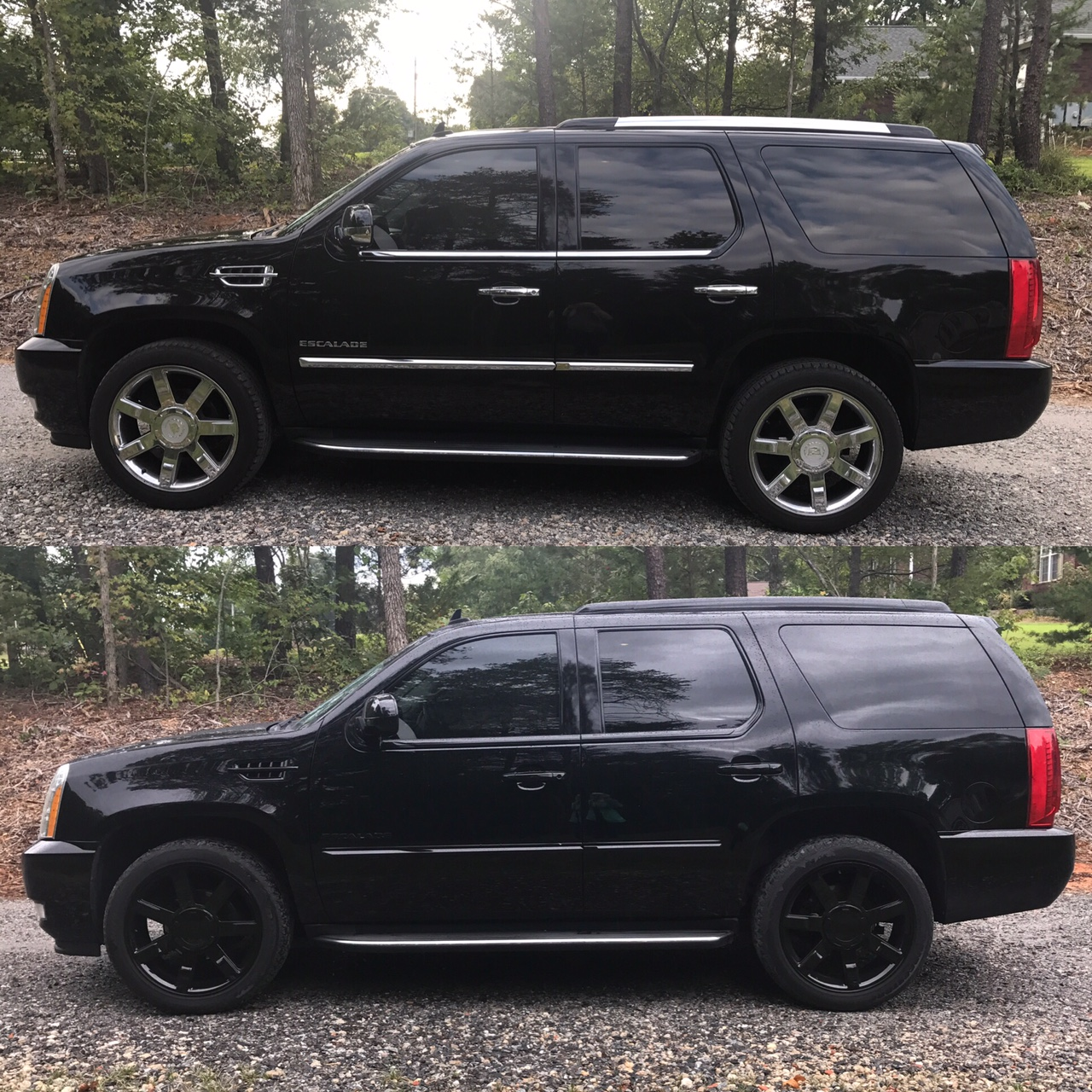 Blacked Out Cadillac Escalade